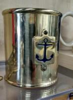 Contenitore in ottone della marina