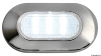 Luce di cortesia ovae 6 LED IP67 Blu