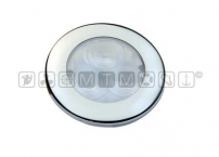 Luce impermeabile LED round flush Inox