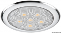 Plafoniera 6 LED luce bianca IP66 flush mount