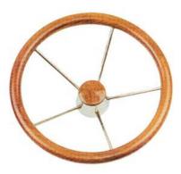 Volante in legno teak